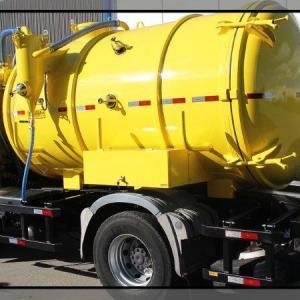 Tanque para saneamento básico